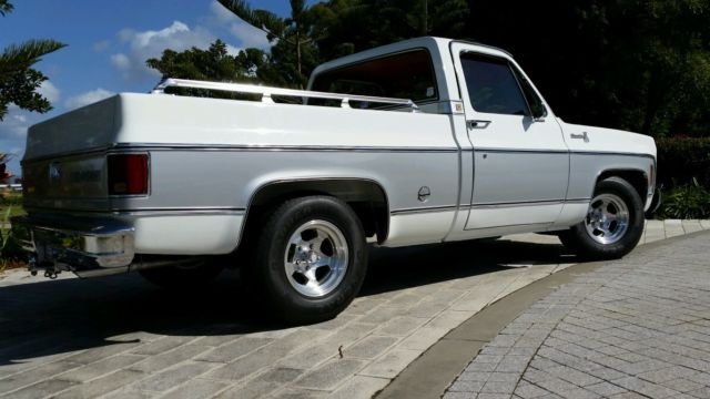 Chevrolet C10 Silverado, Rare Short Box