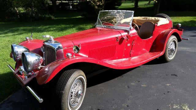 1937 Jaguar S-Type ss100