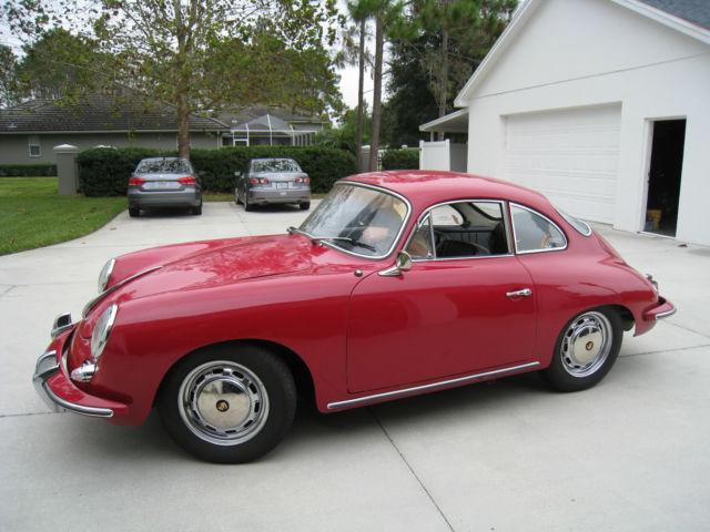 1964 Porsche 356 1600 SC Karmann Coupe