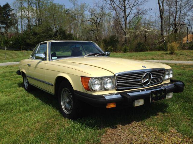 1978 Mercedes-Benz 400-Series Sl