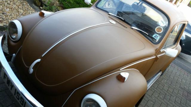 1972 tax excempt volkswagon beetle 1302s