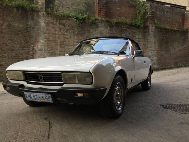 Peugeot 504 Covertible 1981 Incredibly Rare original Un-restored car