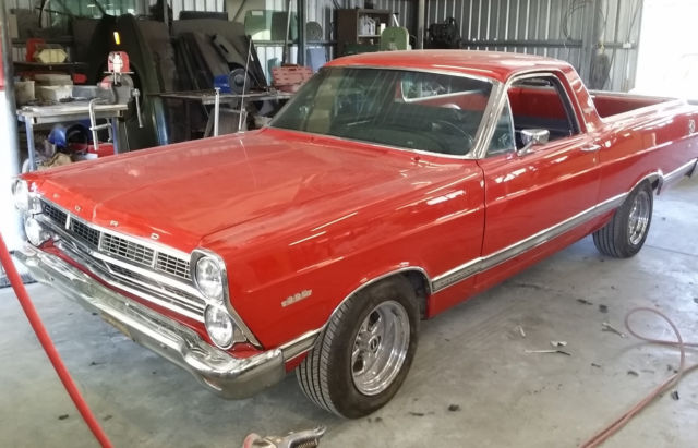 1967 FORD FAIRLANE 500XL RANCHERO SUIT XW XY UTE BUYER FACTORY 390