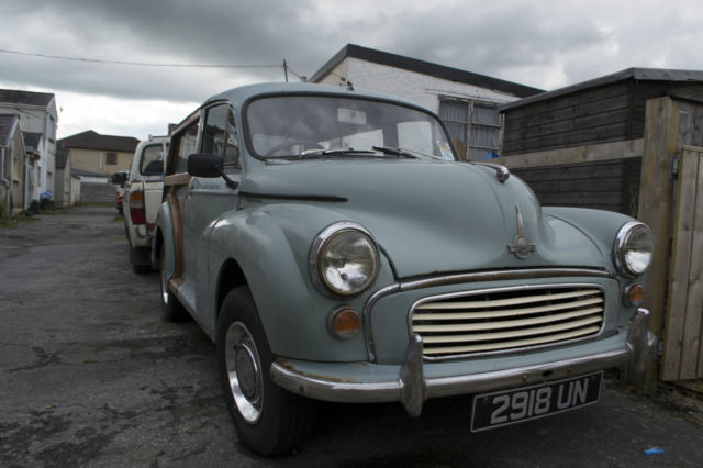 MORRIS MINOR TRAVELLER (1962) With Marina 1300cc engine: Ready to drive away!!!