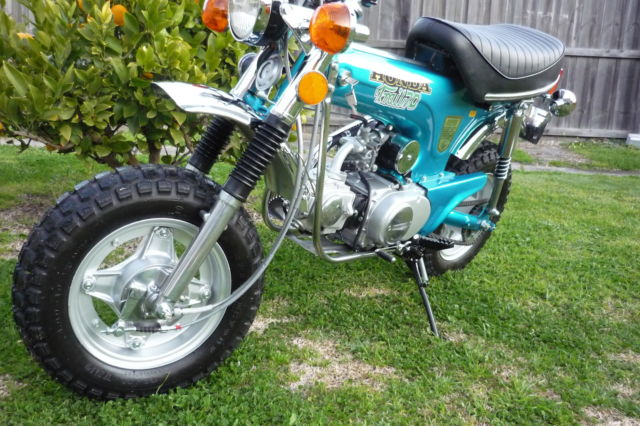 Ebay on 1974 Honda 70 Trail Bike