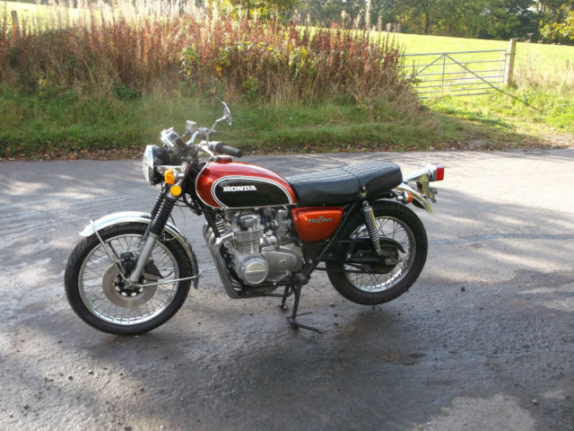 honda 500 four motor cycle