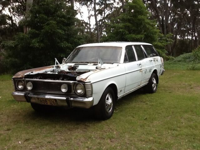 Ford Fairmont  V8 Wagon (1970) Matching Numbers Original  Ready to Restore