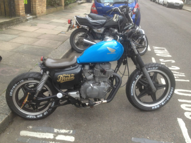 Honda CM250 Bobber Brat Flat tracker Chopper For Sale London, United Kingdom ...