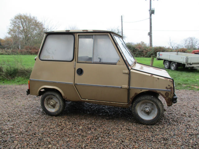 1981 Willam Lambretta Bretta GLA Casalini  Microcar Scooter Bubblecar Barn Find