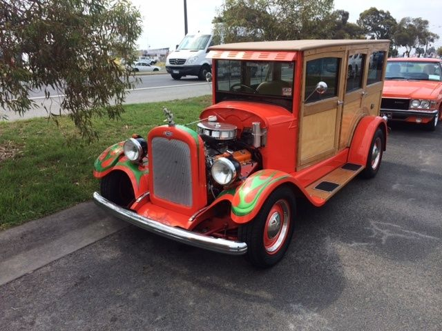 1928 Chevrolet Woody Station Wagon