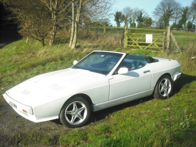 TVR 280 TASMIN CONVERTABLE WITH A TWIST TUNED ESSEX V6 ENGINE 5 SPEED GEARBOX