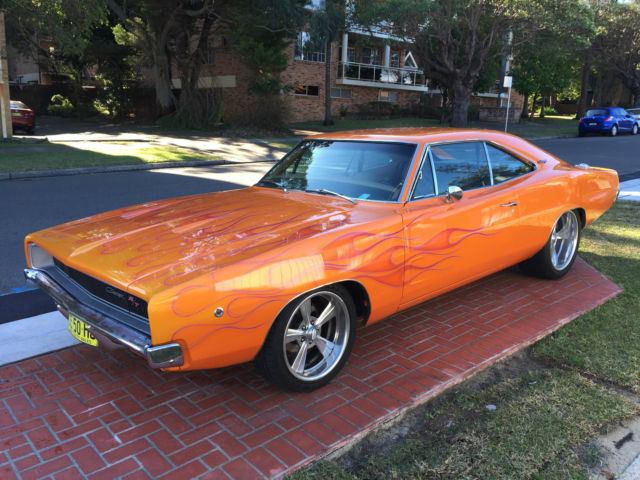 1968 dodge charger rt clone for sale carlton new south wales australia. Black Bedroom Furniture Sets. Home Design Ideas