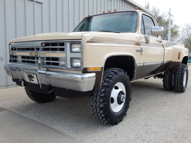 1986 Chevrolet K30, Regular Cab Dually, 454 Big Block, 4x4, Rust Free