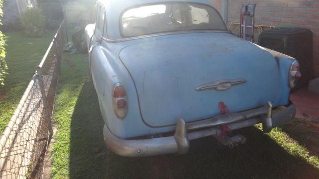 chevrolet 1953 RHD chev 150 sedan 53 chevy