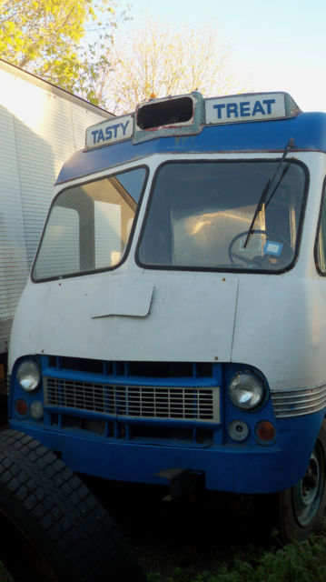 Vintage  Mr. Softee Ice Cream truck/ Food Truck