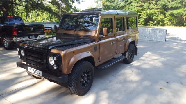 Land Rover: Defender 110 CSW