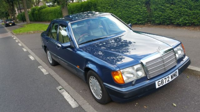Beautiful Mercedes 300E top of range, Leather,  Air Conditioning w124 not 300SE