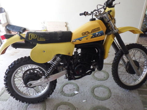 Suzuki PE 250z, 1982