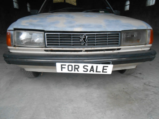 1985 peugeot 305 gt for sale ballymena, united kingdom