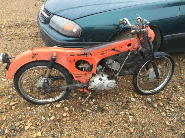 antique kawasaki motorcycle