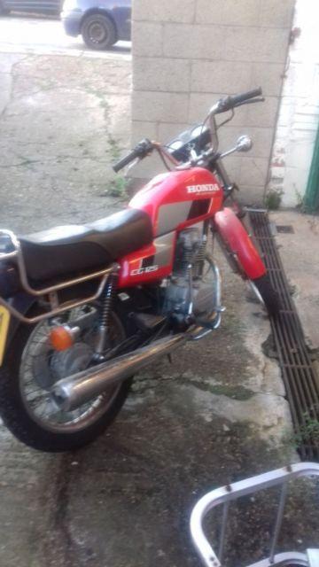 honda cg125    spares  restore