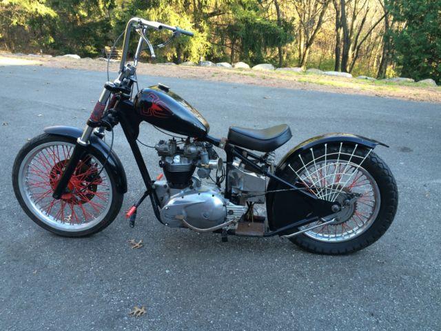 1965 Triumph Bonneville Bobber Project Bike