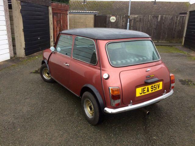 Classic Mini 1100 Special For Sale Nuneaton Warwickshire United