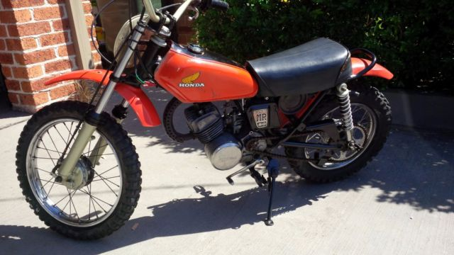 Honda MR50 1974 (Baby Elsinore) not PW50 PW80