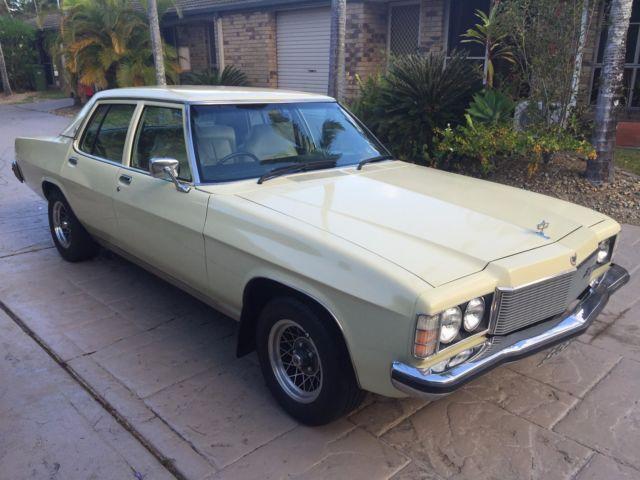 Holden HX Statesman Deville 1977