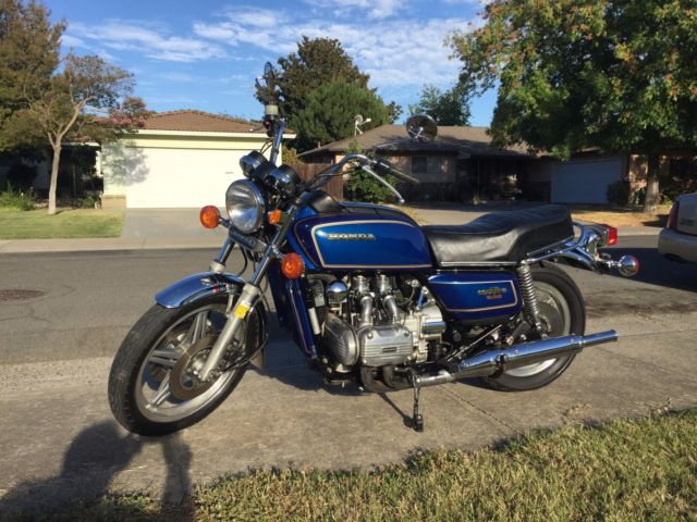1978 Honda Gold Wing GL1000 Motorcycle
