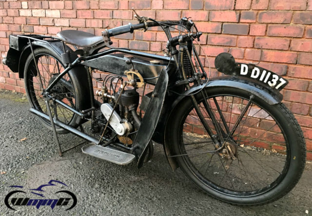 1922 NEW IMPERIAL MODEL 1 350 * RARE VINTAGE BRITISH CLASSIC * 2 OWNERS BANBURY