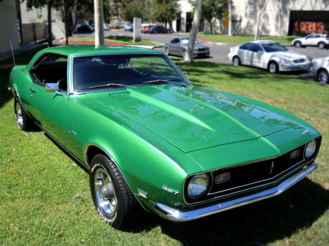 1968 Camaro L30/M20 Numbers Matching Sleeper Package with HiPo 327
