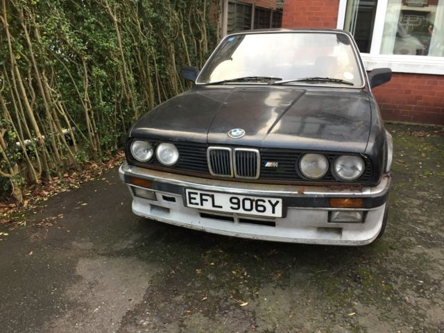 BMW 323i E30 Barn find