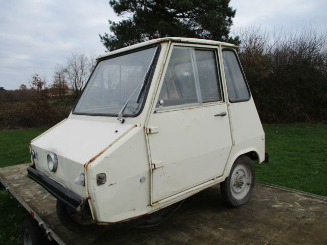 Vintage 1977 Willam Lambretta Casalini Sulky Microcar Bubble Car Scooter