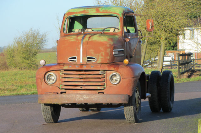 1950 Ford F5 Coe cabover truck pickup transporter v8 hotrod dually american
