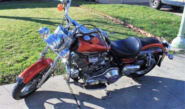 Harley Davidson FXR 1988 Custom Motorcycle