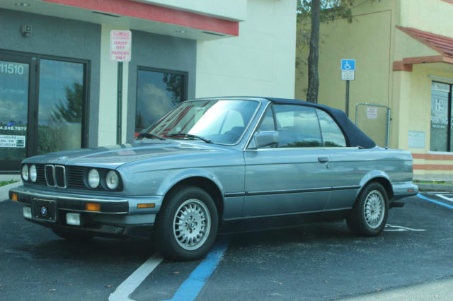 1989 BMW 325i Convertible 2-Door 2.5L | Florida Vehicle | Clean Inside & Out