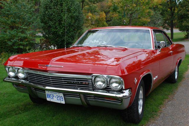 1965 Impala SS  327 300 hp  4spd