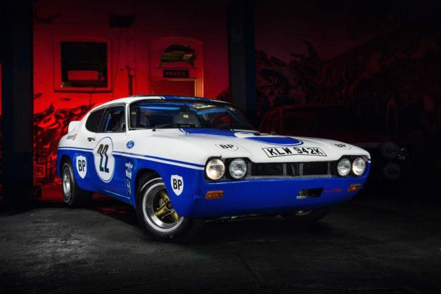 mk1 ford capri calogne rs replica barn find px swap project rally Classic car