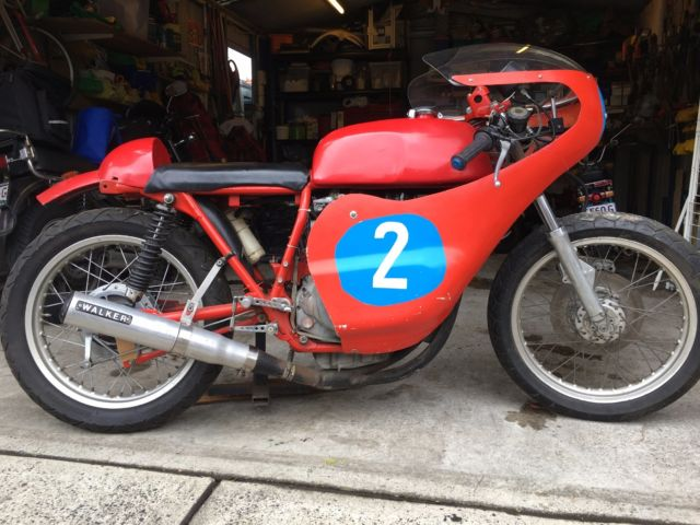 Honda CB350 Period 4 Post Classic Race Bike