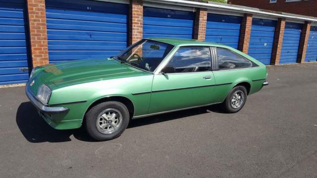 1979 Vauxhall cavalier mk1 sports hatch 1.6 green rare classic