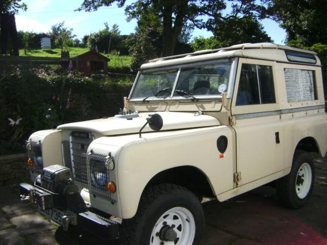 Landrover Safari Series 3 1981 petrol
