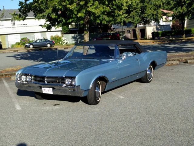 1966 Oldsmobile Dynamic 88 Convertible Survivor 425 ci