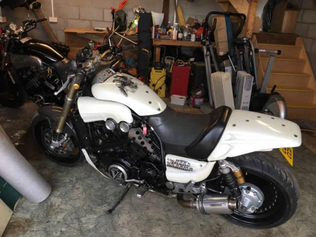 Yamaha Vmax 1200 Streetfighter White For Sale Melksham United
