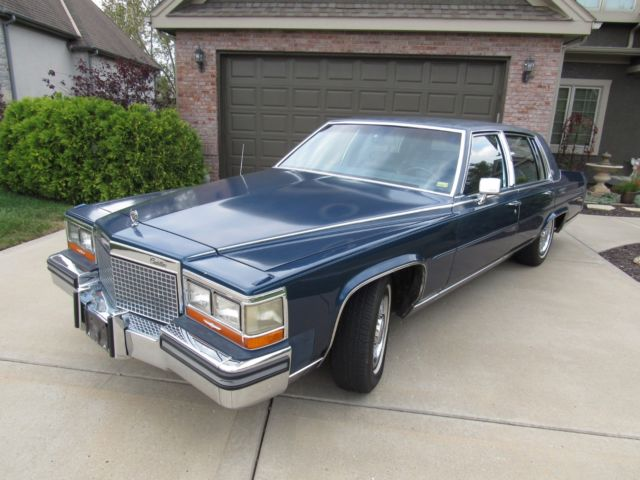 1988 CADILLAC BROUGHAM * 1 OWNER * 43XXX MILES * TRUE BARN FIND*