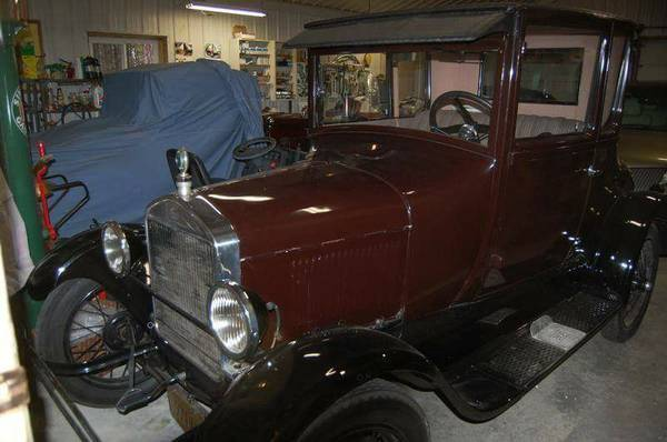1926 Model T Coupe in Perfect Condition. Completely Redone!