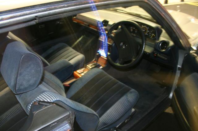1981 MERCEDES 280 CE W123 AUTOMATIC  A LIGHT RESTORATION