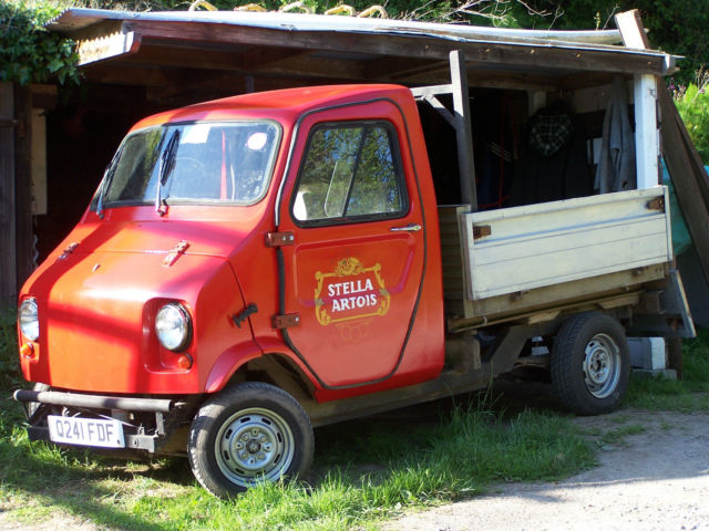 Mini jiffy pick up  by indespension Very rare classic, great advertising vehicle