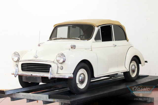 1960 Other Makes Other Morris Minor
