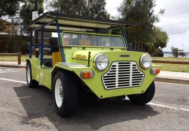 1977 mini moke californian ONLY ONE OF ITS KIND fast and full electric  BARGAIN